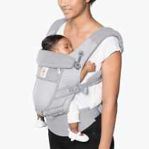 Ergobaby – Adapt cool air mesh- Pearl grey