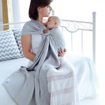 Little Frog- Ring Sling Grey cube 2m