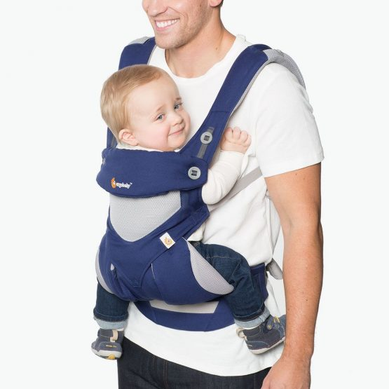 Ergobaby – 360 Cool air mesh French blue