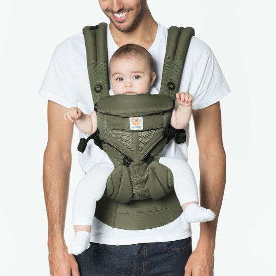 Ergobaby – Omni 360 Cool air mesh Khaki green