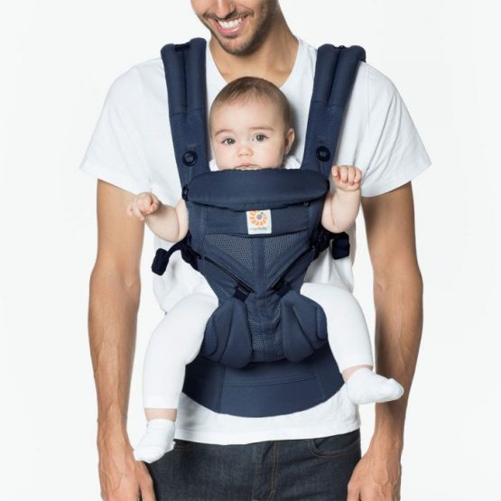 Ergobaby – Omni 360 Cool air mesh Midnight blue