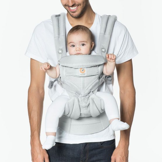 Ergobaby – Omni 360 Cool air mesh Pearl grey