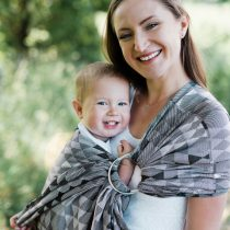 Little Frog- Ring Sling Grey illusion 2m