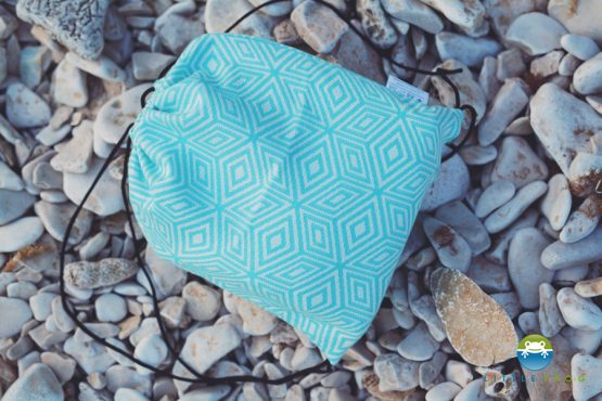 Little Frog torba Turquoise cube