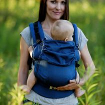 Little Frog ergonomska nosiljka – Navy blue