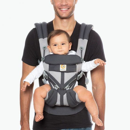 Ergobaby – Omni 360 Cool air mesh Carbon grey