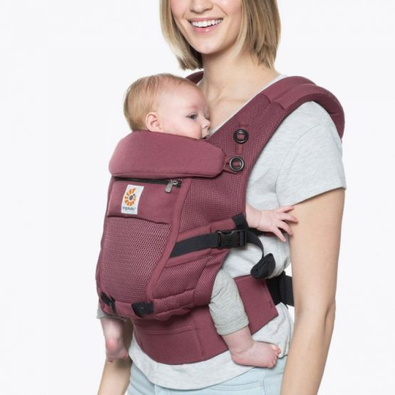 Ergobaby – Adapt cool air mesh- Plum