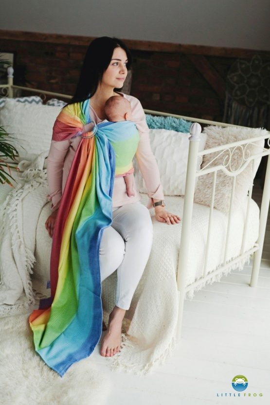 Little Frog- Ring Sling Rainbow Aura 2m