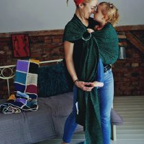 Little Frog- Ring Sling Emerald Cube 2m